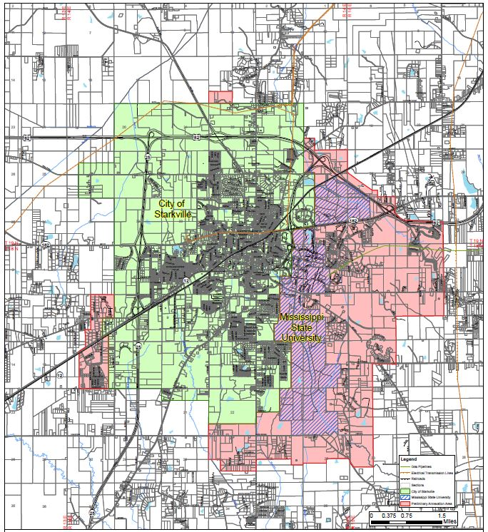 annexation study map
